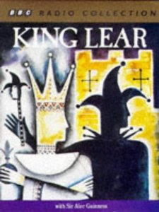 bbc radio collectio king lear audiobook cassette with sir alec guiness par bbc radio collection