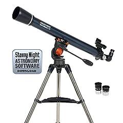Idea Regalo - Celestron AstroMaster 70AZ Telescopio
