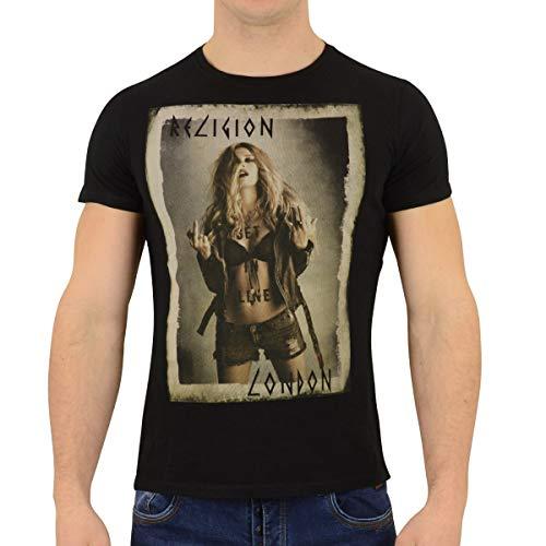 Religion Clothing T-Shirt Get In Line schwarz (S)