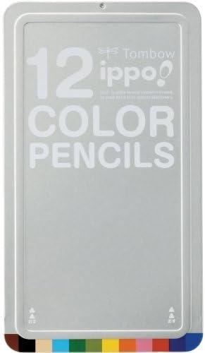 Dragonfly pencil Coloreeeosso pencil ippo  Slide can 12 12 12 Coloreees CL-RNAN0112C Japan | Qualità Eccellente  | Design professionale  | Prezzo ottimale  c33fbd