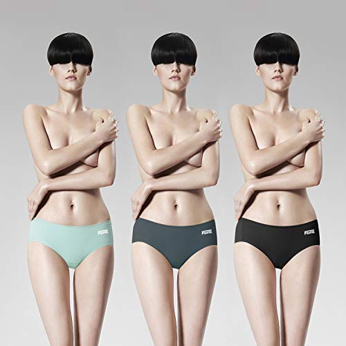 Featol Damen Höschen Hipster 3er Pack Panties Modale Slips elastisch Unterhosen Unterwäsche Taillenslips Bikinislips Unsichtbar Hüftslip Dessous... (40) (Hipster-höschen Pack)