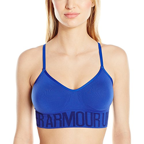 Under Armour Seamless-Blk/Blk/Msv - reggiseno sportivo da donna Royal/Royal