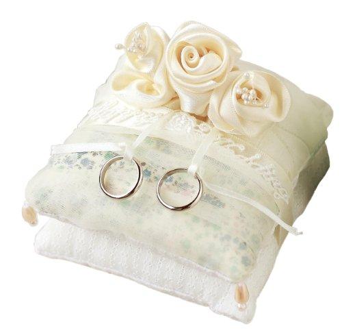 <Mini ring cushion Rose> Hamanaka Handicraft Kit H431-141 (japan import)