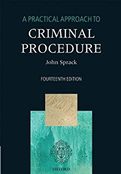 A Practical Approach to Criminal Procedure by [Sprack, John]