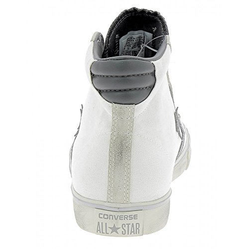 converse leather uomo bianche