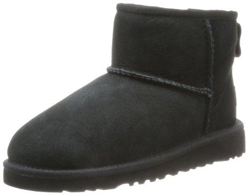 ugg-mini-classic-scarpe-a-collo-alto-unisex-bambini-nero-30