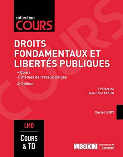 Droits fondamentaux et libertés publiques, 4ème Ed.