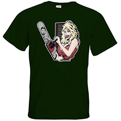 getshirts - Rocket Beans TV Official Merchandising - T-Shirt - Spiele mit Bart - Dolly Bottle Green