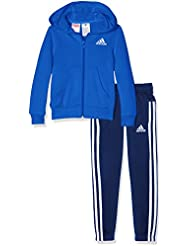 Adidas BP8827- Chándal para niñas, color Multicolor (Azul/Blanco), 164 cm