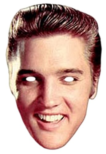 Halloweenia - Erwachsene Elvis Presley Maske, Karneval, Fasching, (Up Make Elvis Presley)