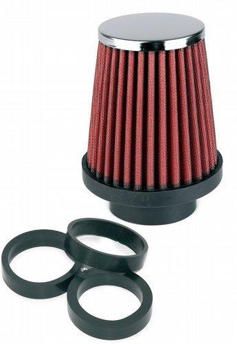 Preisvergleich Produktbild Simoni Racing FSR / UC Einzigen Kegel-Filter,  Chrome Cap,  Red Cotton