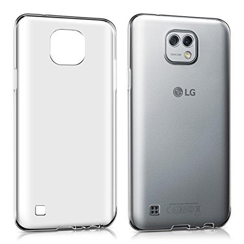 kwmobile LG X Cam Hülle - Handyhülle für LG X Cam - Handy Case in Transparent