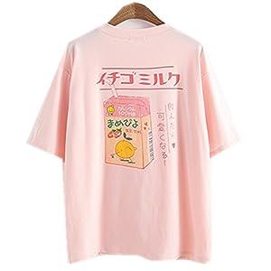 Himifashion - Camiseta - Floral