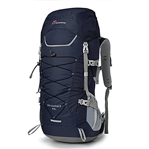 Mardingtop 55L Outdoor Sport Internal Frame Backpack Hiking Backpack for Climbing,Camping,Hiking,Travel and