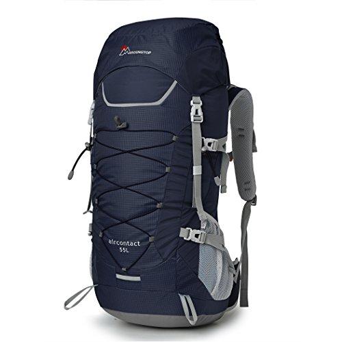 Mardingtop 55L Trekkingrucksäcke für Camping / Wandern / Reisen, 70 x 29 x 22 cm