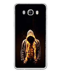 Fuson Designer Back Case Cover for Samsung Galaxy J5 (6) 2016 :: Samsung Galaxy J5 2016 J510F :: Samsung Galaxy J5 2016 J510Fn J510G J510Y J510M :: Samsung Galaxy J5 Duos 2016 (Six Pack Body Builder Friend Boy Men Fitness)