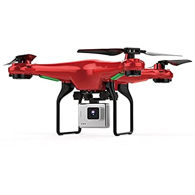 Hanbaili L500 RC Quadcopter Drone with Camera Real-time Transmission,One-click Return,Emergency Stop,CE Certification,Drone with Altitude Hold for Beginners