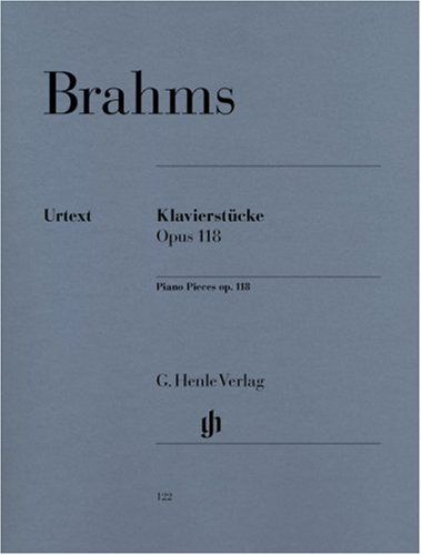 Pièces Op.118/1-6 - Piano