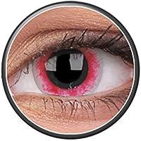 Kontaktlinsen Festive ohne Stärke Phantasee Modell Fancy Lens 14mm Moon Diablo