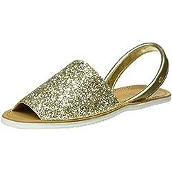 Abarca Glitter - Dorado (Platino)