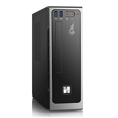 Mini PC CSL Mini-ITX i5-7500 / Win 10 - Intel Core i5-7500 4X 3400 MHz, 240GB SSD, 8 GB DDR4, Intel HD 630, GigLAN, USB 3.1