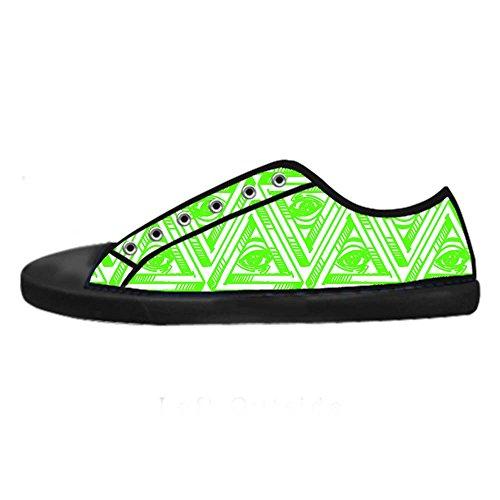 Dalliy eye pattern Men's Canvas shoes Schuhe Lace-up High-top Sneakers Segeltuchschuhe Leinwand-Schuh-Turnschuhe A