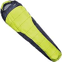 Klarfit Gullfoss saco de dormir tipo momia (230x80x55 cm, resistente humedad, relleno fibra