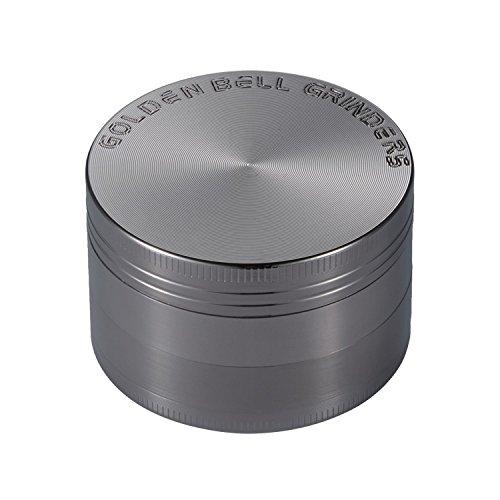 LIHAO [Grinder Garanzia a Vita] 2'(50mm) Spezie Erbe Grinder in 4 Pezzi Tritino in Metallo - Nickel...