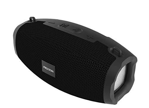 Prixton Enceinte Bluetooth Portable 6W Haut-Parleur Bluetooth Enceinte Portable sans FilNoir Zeppelin XS W1500