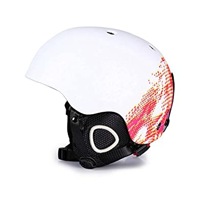 GANZTON Ski and Snowboard Helmet Cycle Snow Sport Helmet for Adult Men and Women by GANZTON