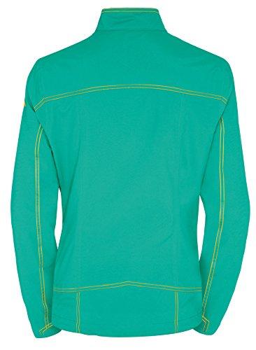 VAUDE women's fusio jacket veste Turquoise - Lotus Green