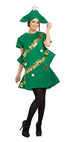9 Tannenbaum Kostüm, Grün, Einheitsgröße ()