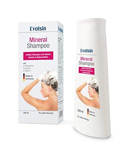 NEU: Evolsin Mineral Shampoo I Effektive Linderung bei Ekzemen, Neurodermitis und Schuppenflechte I Lindert Juckreiz bei trockener, gereizter und irritierter Kopfhaut