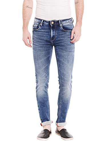 KILLER Men's Skinny Fit Jeans (E-9558 DELTA SKFT FLIDBL_Blue_32W x 34L)  available at amazon for Rs.1859