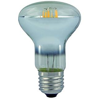 AdLuminis LED Reflektor-Lampe R63 E27 Fassung, klar, 6W, 550 Lumen, Energiesparlampe ersetzt Glühlampe 46W, A++