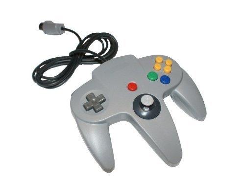 Controller GamePad GRAU für Nintendo 64 N64 - RBrothersTechnologie