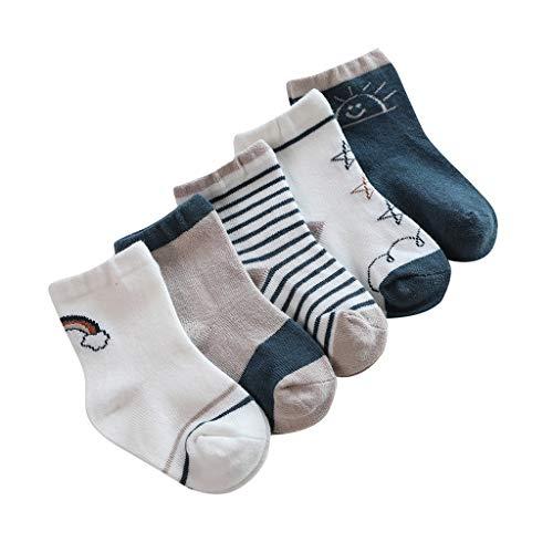 Maleya Kindersocken im Cartoon für Jungen und Mädchen Mode Bequeme Socken warm Socken Strümpfe Socken strümpfe socken Leggings Slouch Boot Teppichsocken Socken Sie lustige mittlere