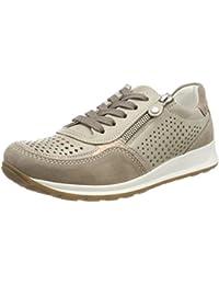 SHOWHOW Damen Luftig Mesh Sommer Schuhe Freizeitschuhe Sneakers Schwarz 41 EU