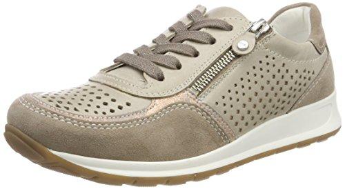 Ara ROM, Zapatillas para Mujer, Braun (Fossil, Rosegold/Taupe), 43 EU Ara