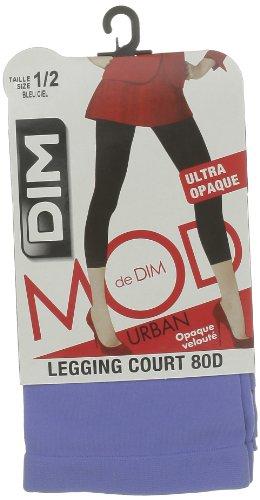 Dim Court Opaque Veloute - Leggings - 40 deniers - Femme Bleu (Bleu Ciel)