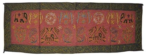 etnica designer Centro tavolo runner da tavolo decorativo panno arazzo, 46x 137cm