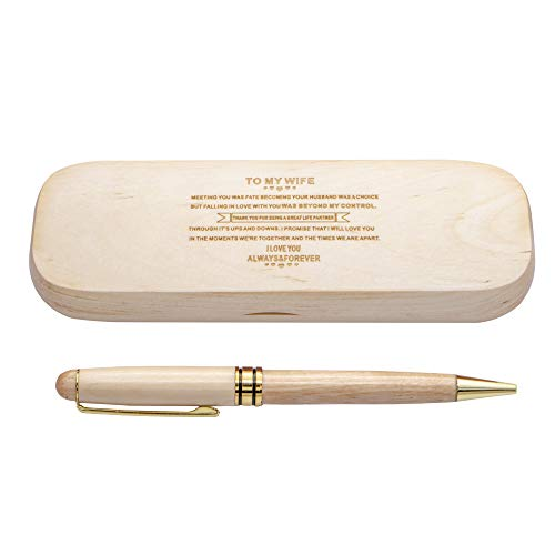 Estuche bolígrafos madera grabado personalizado
