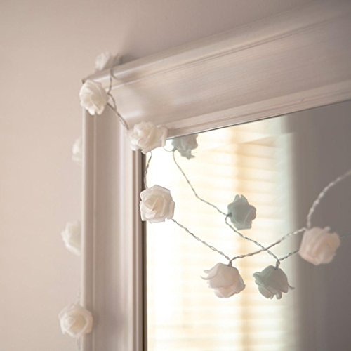tte Gemütliche String Fairy Lichter Warm Weiße Batterie Betrieben Für Schlafzimmer Weihnachten Hochzeit Party Dekor (Weiß) (Ast, Halloween Dekoration)
