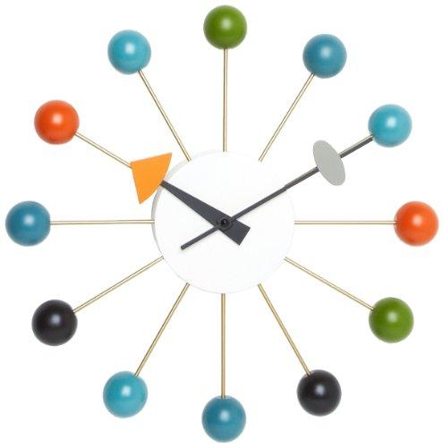 Vitra Ball Clock / 20125003 Horloge murale Multicolore 330 mm