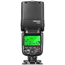 Voking VK800pantalla LCD I-TTL Flash Speedlite TTL para Nikon D3300/D3400/D5/D500/D5600/D610/D7100/D7200/D7500/D810etc y otras cámaras DSLR con zapata
