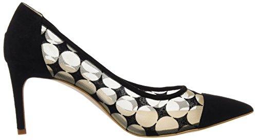 Hannibal Laguna Damen Data Heel Schuhe Mehrfarbig (Rounder Beige)