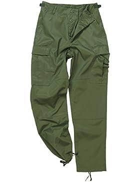 Mil-Tec BDU Ranger Combate Pantalones Oliva tamaño M