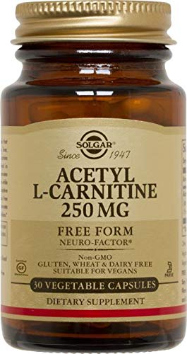 Acetylcarnitine 250MG 30 CAP.