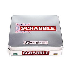 Leisure Trend LTL10114 Scrabble Retro Edition Tin Game
