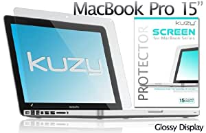 "Kuzy - 15-inch Screen Protector Flim for Apple MacBook Pro 15.4"" (Model: A1286) Glossy Display - Clear"